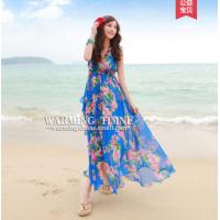 沙滩情侣装夏装2018新款不一样的套装蜜月海边度假连衣裙女情侣款