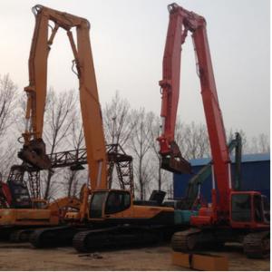 嘉禾机械CAT320D挖掘机挖斗 -18米加长臂,三段加长