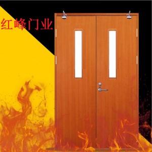 厂家热销甲乙级钢制防火门木质防火门尺寸可定制质量保证