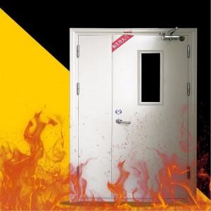厂家直销甲级钢制防火门 超大木质钢质 不锈钢玻璃防火门