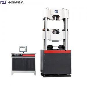 WEW-F微机屏显液压式万能试验机 WEW-F四立柱双丝杠