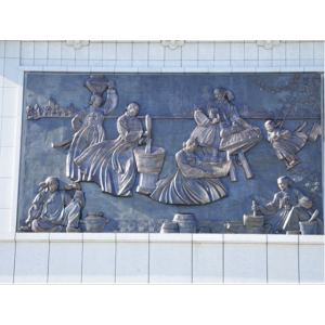 延边博物馆浮雕