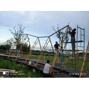仿竹栏杆 仿竹护栏  仿竹篱笆 锌合金仿竹片15*25
