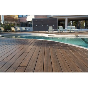 塑木地板户外长条室外庭院花园阳台共挤防滑防水木纹防腐木板材