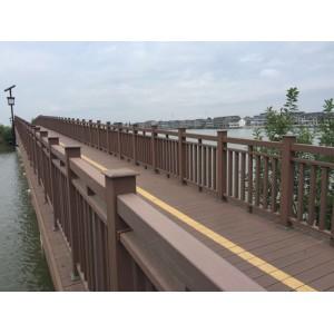 塑木地板户外长条木塑室外板材庭院防腐木露台园林阳台工程