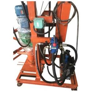 家用电小型打井机家用单相电水井钻机地源热泵单相电钻机
