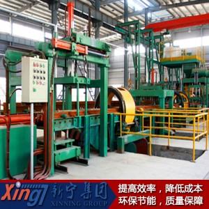 鐵模覆砂水平生產線廠家直銷歡迎來電