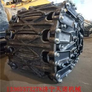铲车防滑保护链条 防滑履带生产厂家 济宁天诺机械