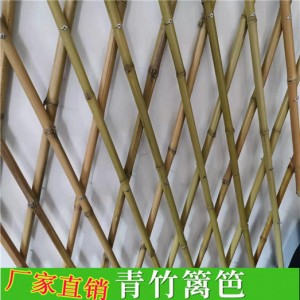 竹篱笆栅栏 竹子护栏 竹护栏