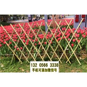 户外栅栏围栏防腐碳化木篱笆花园庭院装饰菜园木桩围墙护栏室外