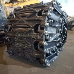 锻打式装载机防滑保护履带生产厂家 济宁天诺机械