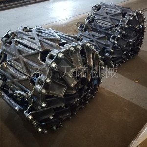咨询订购装载机防滑保护履带 防滑链条