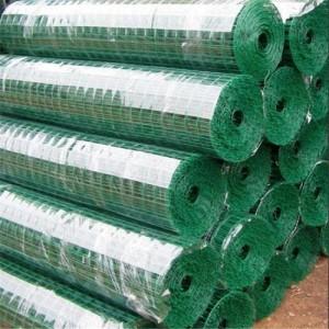 金莎厂家特批发 养殖专用绿色浸塑围栏 养殖荷兰网