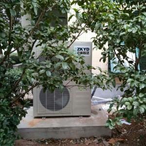 中科悦达安装冷水机真实图片拍摄