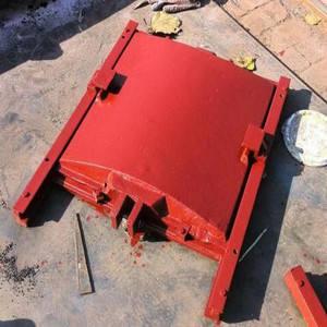 铸铁闸门厂家 1.2*1.8米雨水排放铸铁闸门 厂家直销