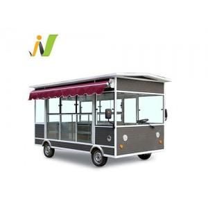 木屋款电动早餐车多功能小吃车厂家