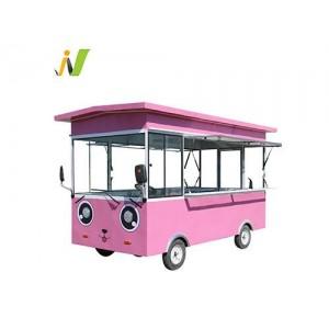 巴士款电动餐车早餐车小吃车厂家