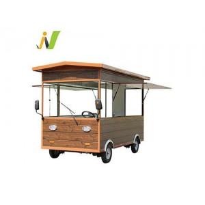 木屋款电动餐车小吃车早餐车厂家