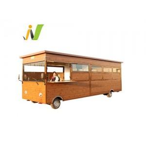 木屋款电动餐车多功能小吃车厂家