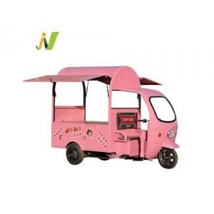三轮款电动餐车早餐车生产厂家