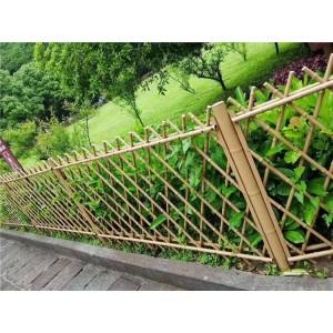不锈钢仿竹护栏新农村仿竹篱笆