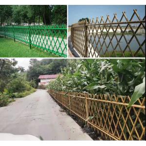 不锈钢仿竹护栏公园景点街道围栏