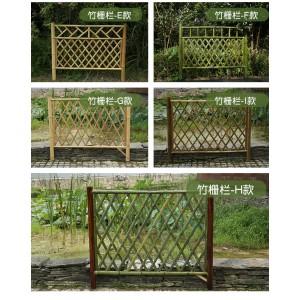 竹篱笆 草坪护栏  竹围栏 仿竹护栏 仿竹篱笆