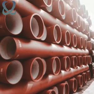 鑫环球现货球墨铸铁管 dn100-1400大口径输水排水管