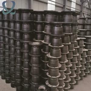 鑫环球球墨铸铁管管件 全平三通套管承接盘球磨铸铁管配件批发