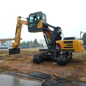 举高用挖掘机升降驾驶室 改装履带式挖掘机