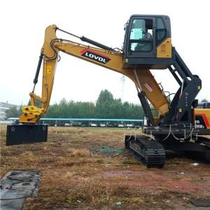 铁路挖掘机升降驾驶室改装 卸煤 卸沙