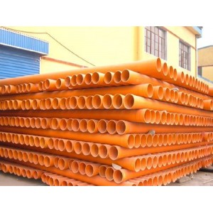 晨希厂家直销CPVC电力电缆保护套管埋地式cpvc电力管