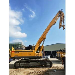 挖机打桩臂生产厂家 挖掘机打桩臂价格咨询济宁天诺