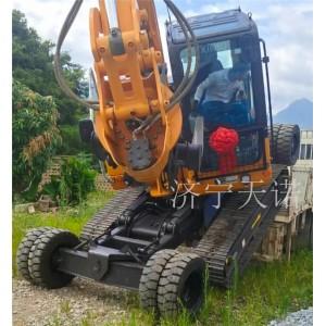 济宁天诺长年改装轮履两用挖掘机 挖掘机一体挖掘机生产厂家