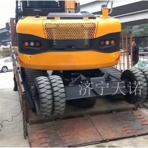 75 80轮履两用挖掘机加工改装  挖机直接改装加工