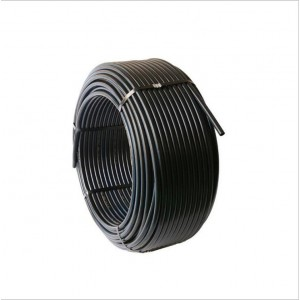 销售黑色hdpe排水管材 pe给水管 塑料hdpe给水管道