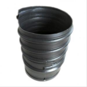 增强HDPE钢带波纹管 dn300PE大口径排污排水钢带管