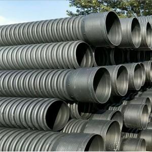 金巨和PE波纹管 大口径螺旋波纹排污管600 现货供应批发